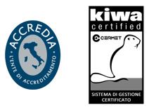 Logo Accredia Kiwa Cermet