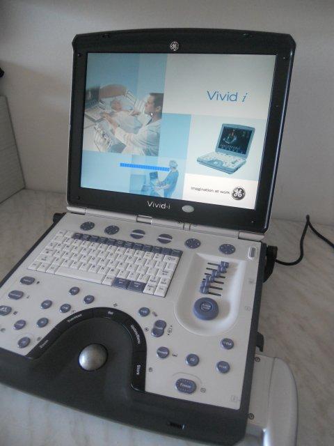 Ecografo GE Vivid I BT10