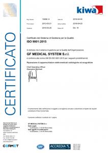 Certificazione ISO 2018
